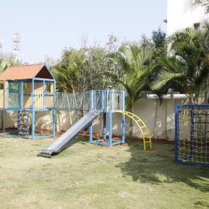 Play area at Vedic Lore School