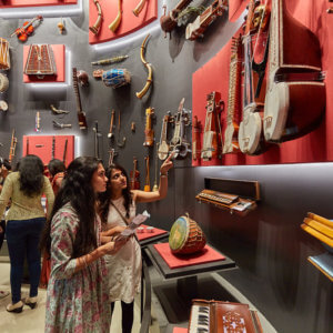 Music Instruments at Indian Music Experience