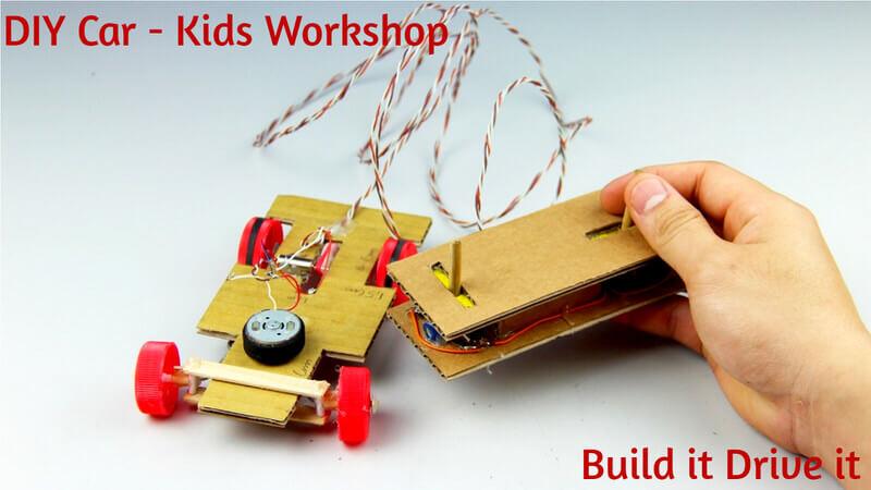 DIY Car – Kids Workshop Cover Image