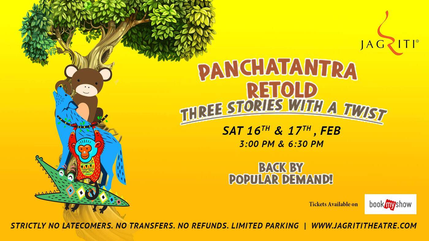 Panchatantra Retold Three Stories with a Twist Cover Image