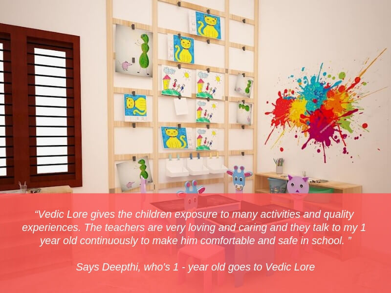 Activities and Quality Experiences at Vedic Lore for Kids