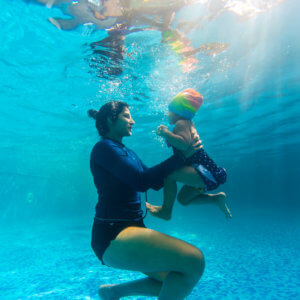 Infant Swimming Class by Nirala Bopanna