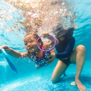 Bubbling Fish Infants & Toddler Swim Program