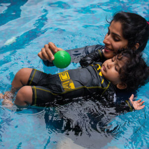 Bubbling Fish Infant & Toddler Swim Program