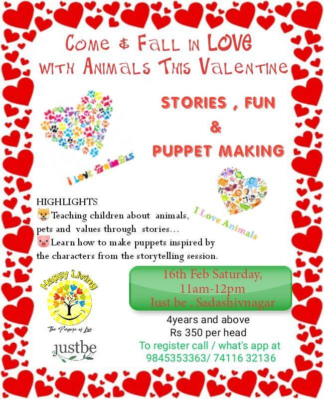 Valentine Special: Stories, Fun & Puppet Making Cover Image