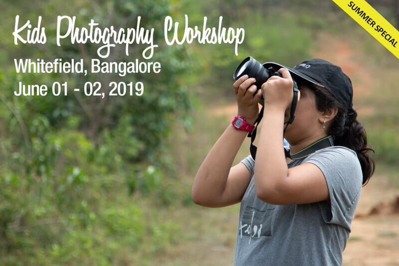 Kids Photography Workshop 2019: Whitefield Cover Image