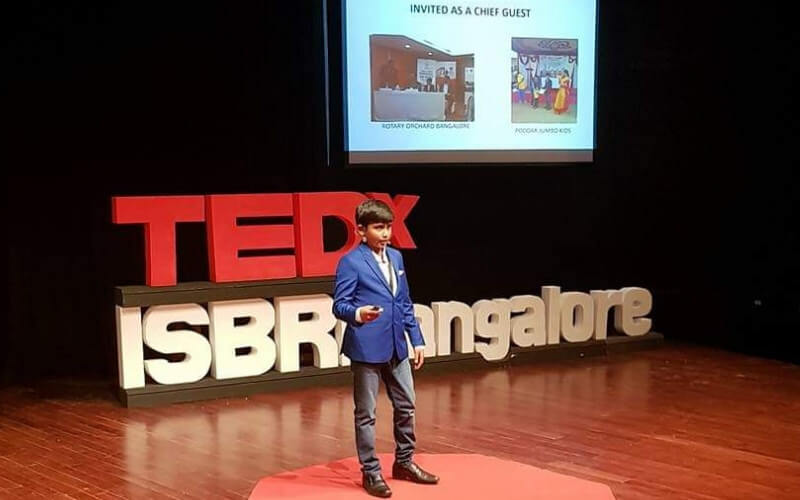 Yathaarth at the TEDx Talk