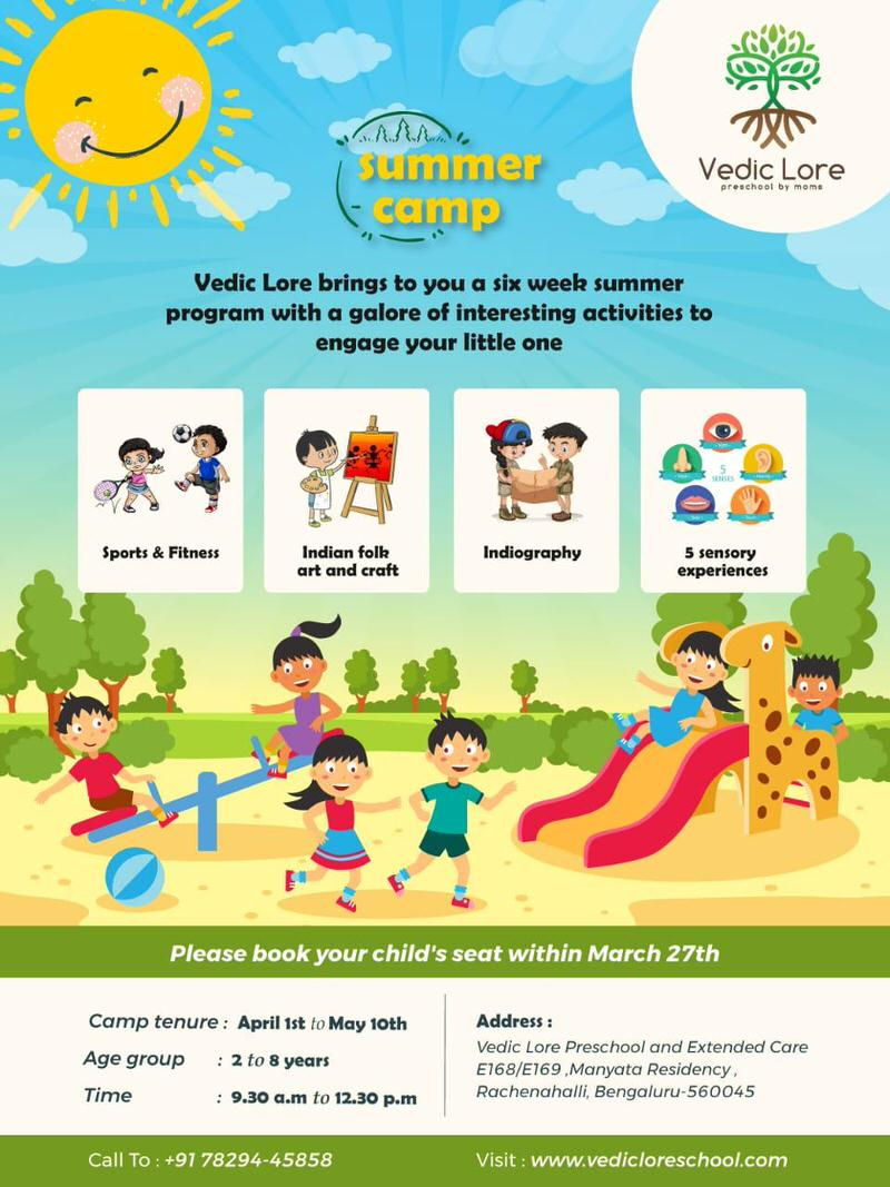 Vedic Lore Summer Camp 2019 Cover Image