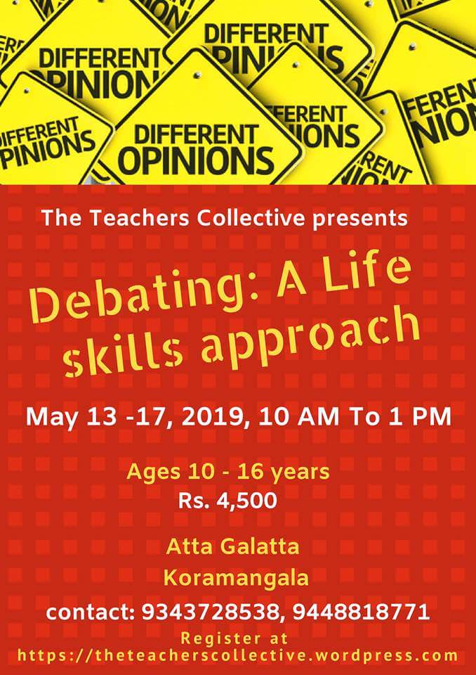 Debating – A Life Skills Approach 2019 Cover Image