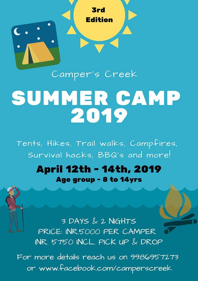 Camper's Creek Summer Camp 2019 Cover Image