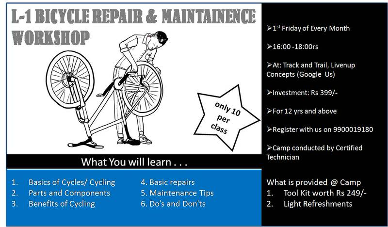 Cycle Repair & Maintenance Workshop Cover Image
