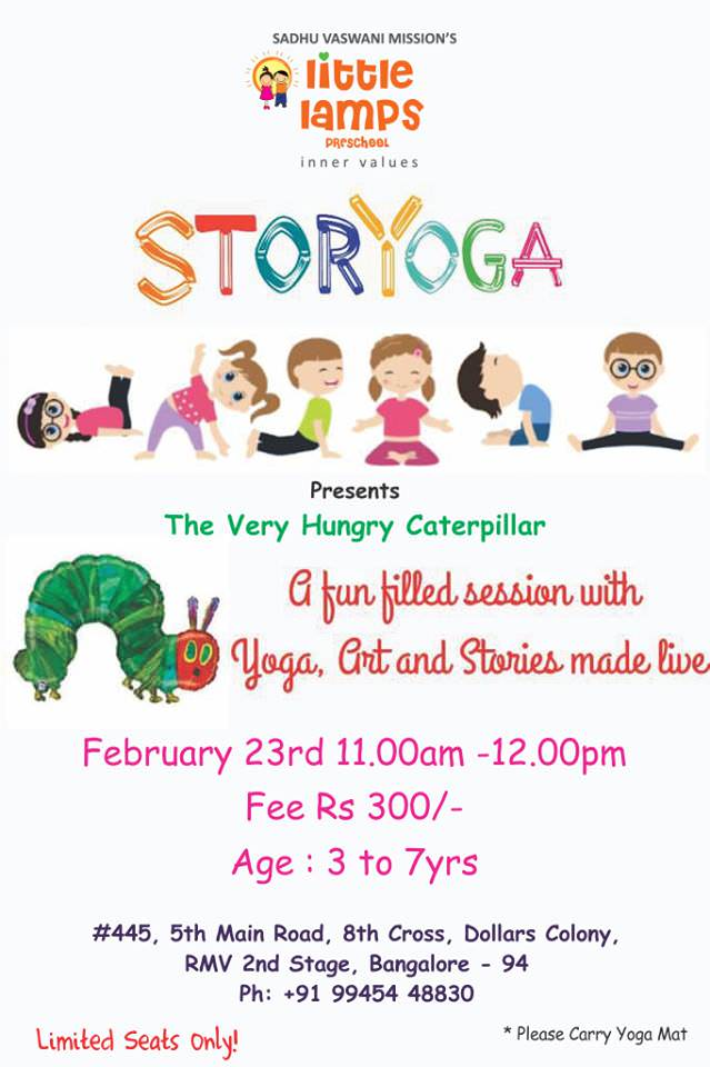 Storyoga - The Very Hungry Caterpillar at SVM Little Lamps