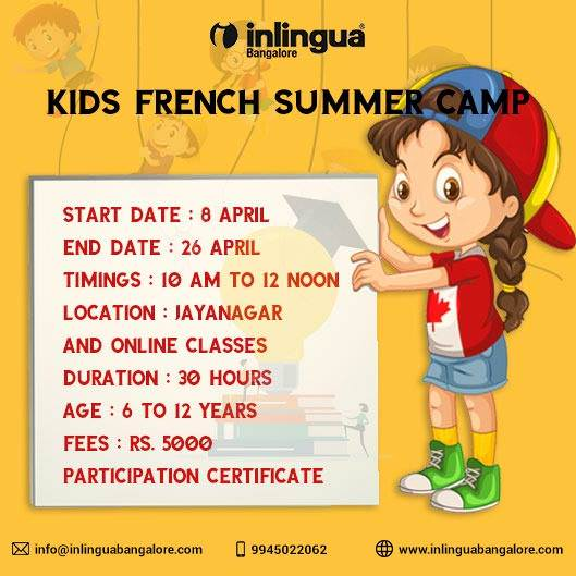 Inlingua Kids French Summer Camp Cover Image