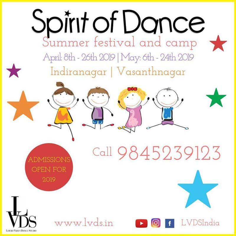 Spirit of Dance Summer Festival 2019 Cover Image