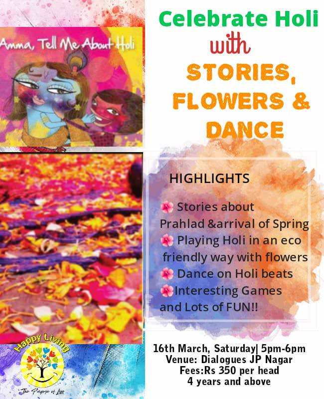 Holi Special Storytelling for Kids Cover Image