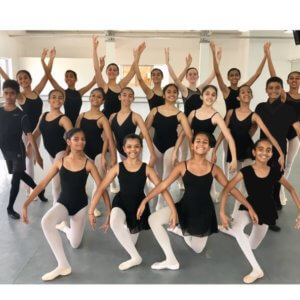 Ballet Students at Lewis Foundation