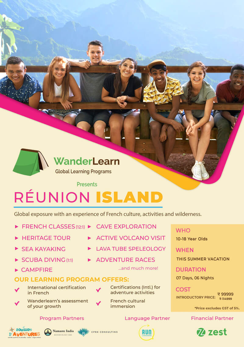 French Adventure Camp at Reunion Island 2019 Cover Image