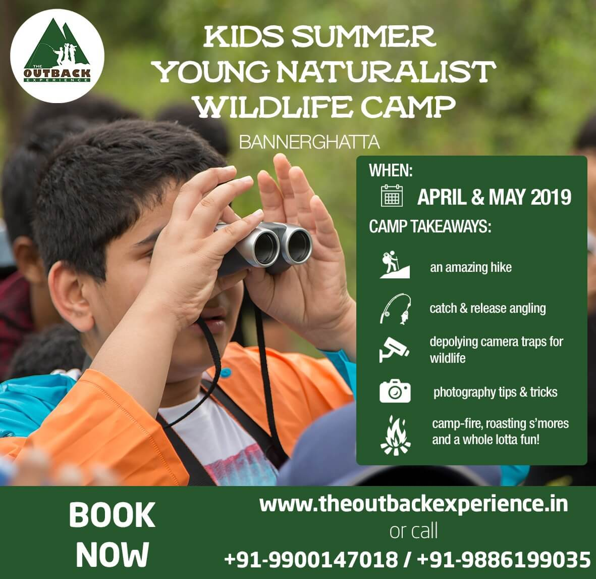 Young Naturalist Wildlife Camp 2019 Cover Image