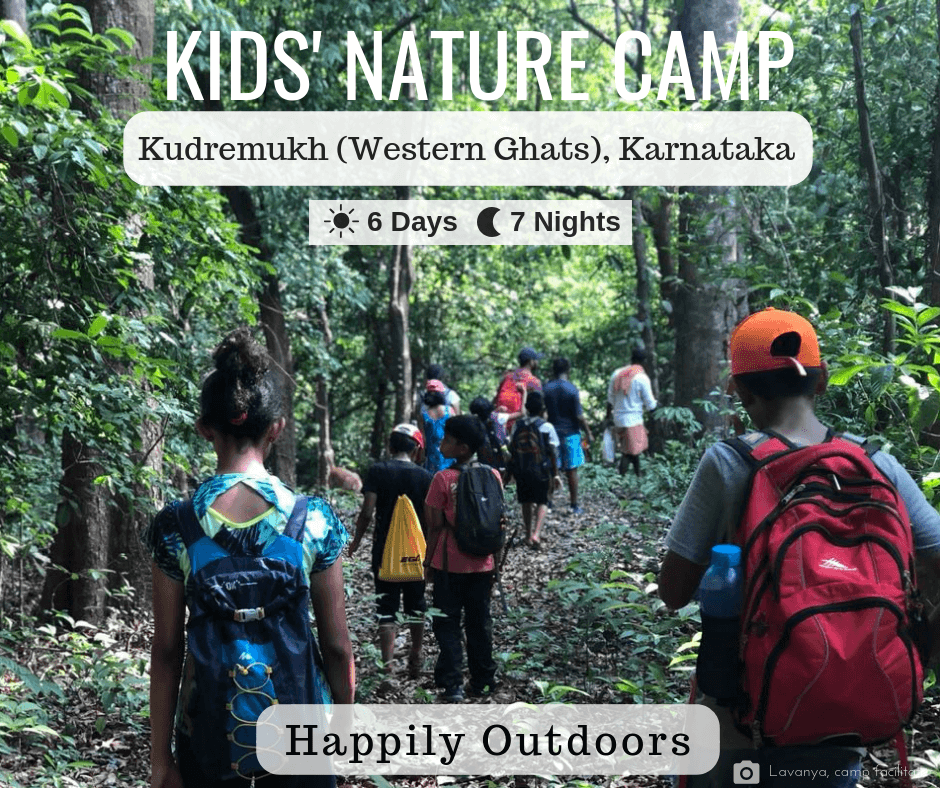 Happily Outdoors Kids' Nature Camp 2019 Cover Image