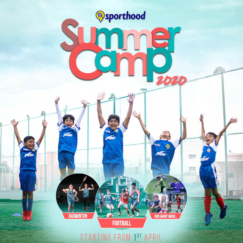 Sporthood Summer Camp 2020 Cover Image