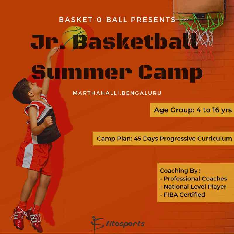 Junior Basketball Summer Camp 2019 Cover Image