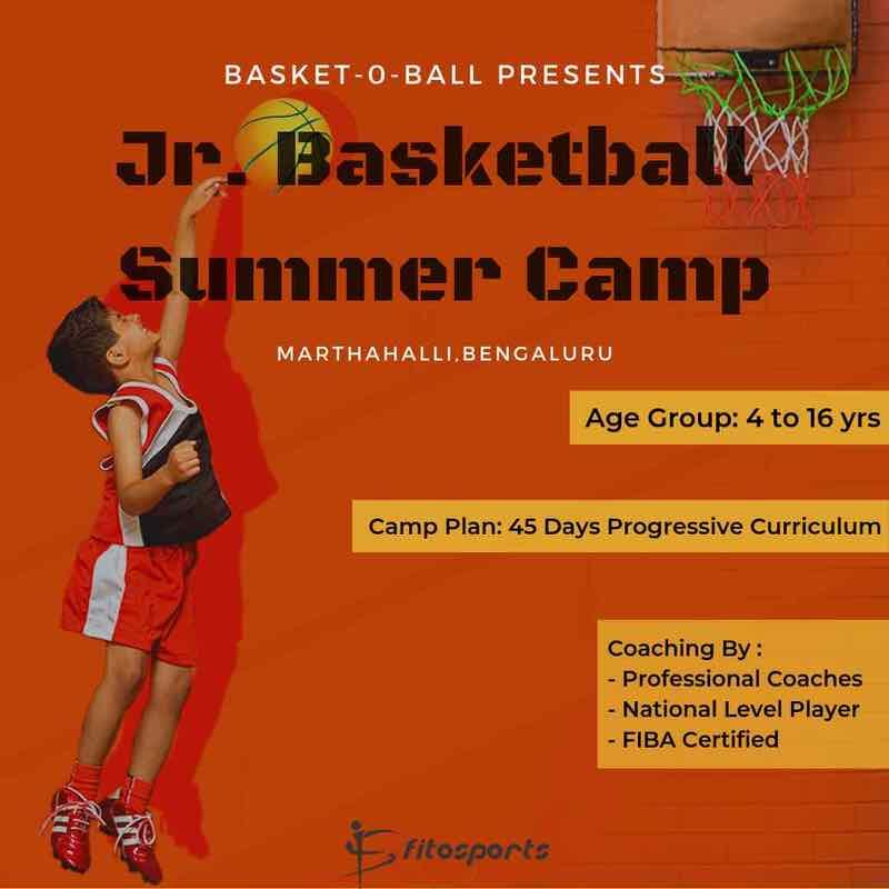 Junior Basketball Summer Camp 2019 Cover Image
