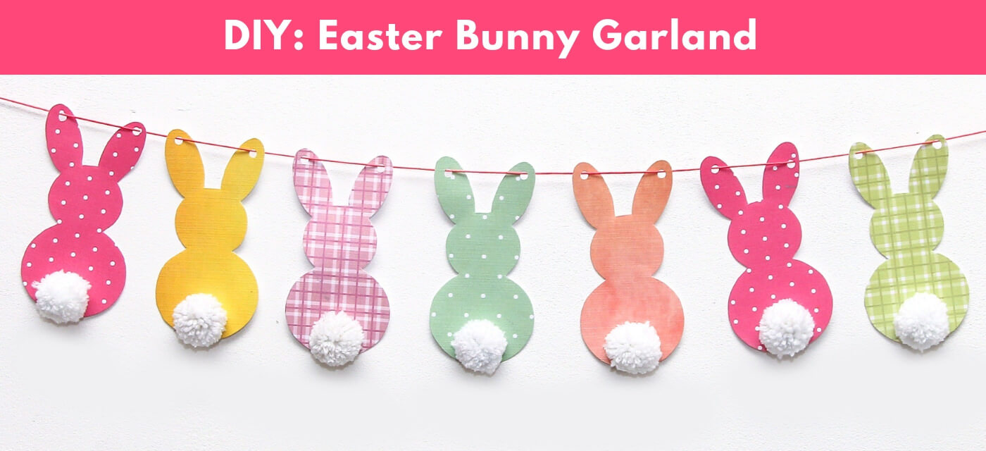 DIY Easter Bunny Garland Cover Image
