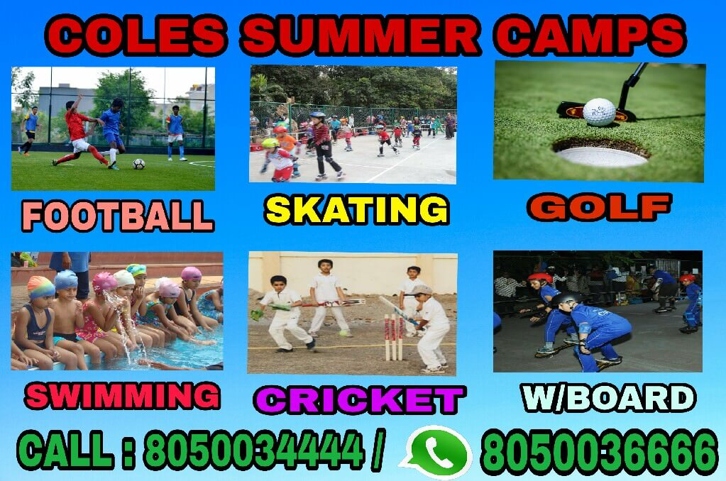 Coles Sports Summer Camp 2019 Cover Image