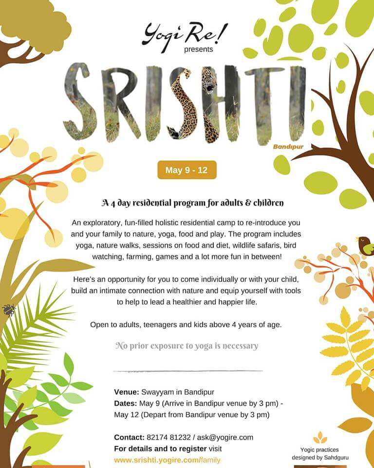 4 Day Srishti Yoga Summer Camp for Kids Cover Image