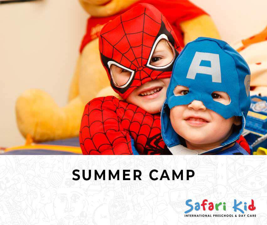 Safari Kid Superheroes Summer Camp 2019 Cover Image