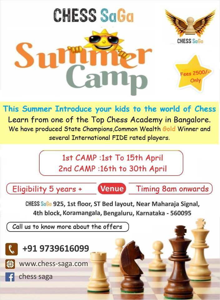 Chess SaGa Summer Camp Cover Image