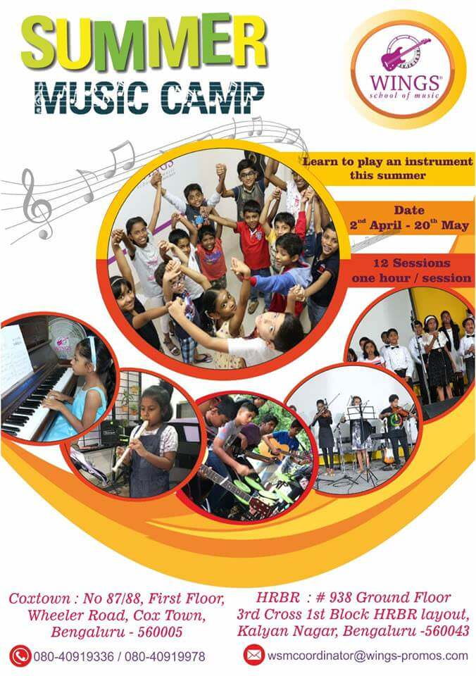 Wings Summer Music Camp 2019 Cover Image