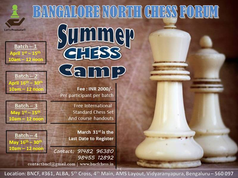 Summer Chess Camp 2019 Cover Image
