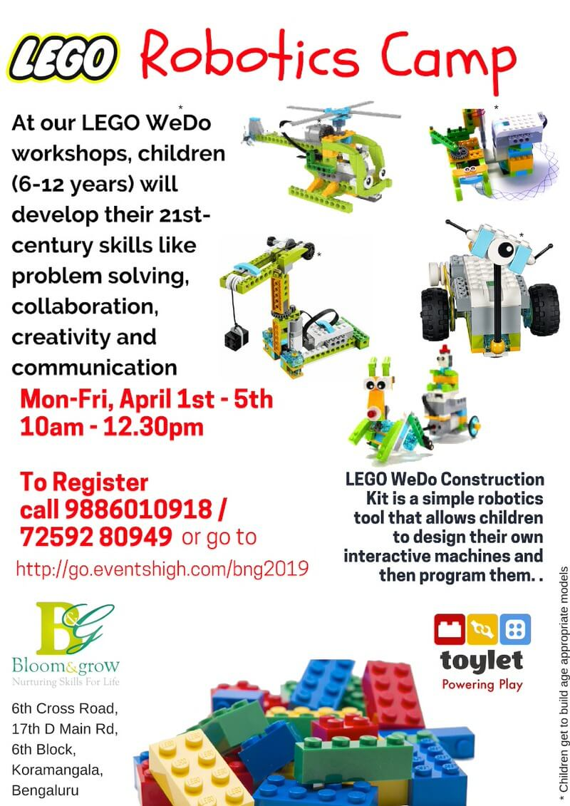 Lego Robotics Camp 2019 Cover Image