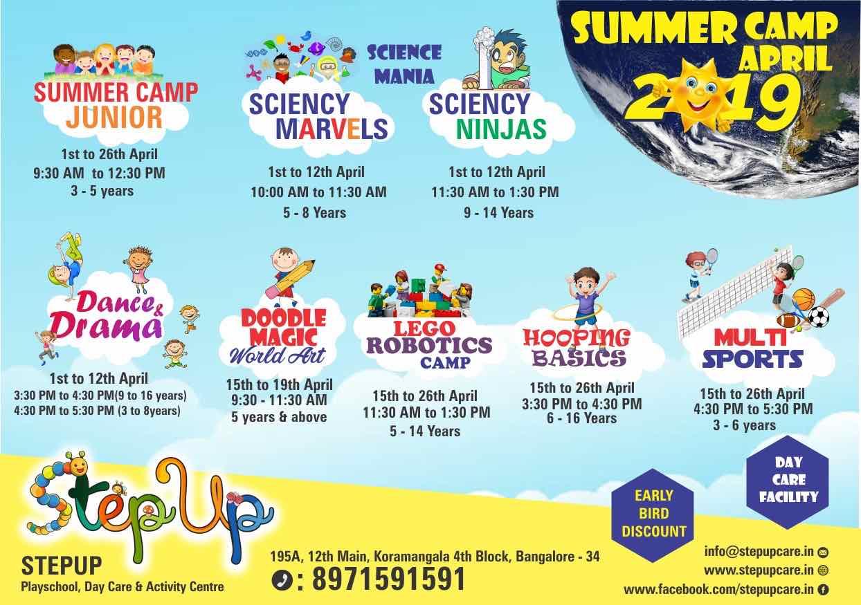 Summer Camp at StepUp Junior Cover Image