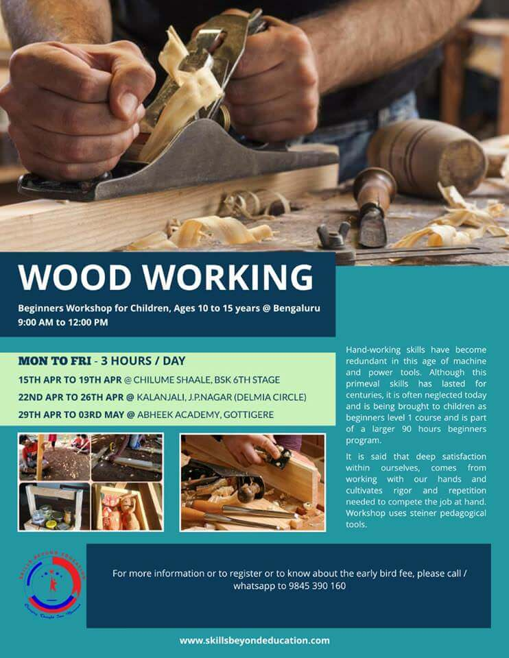 Wood Working Workshop 2019 Cover Image