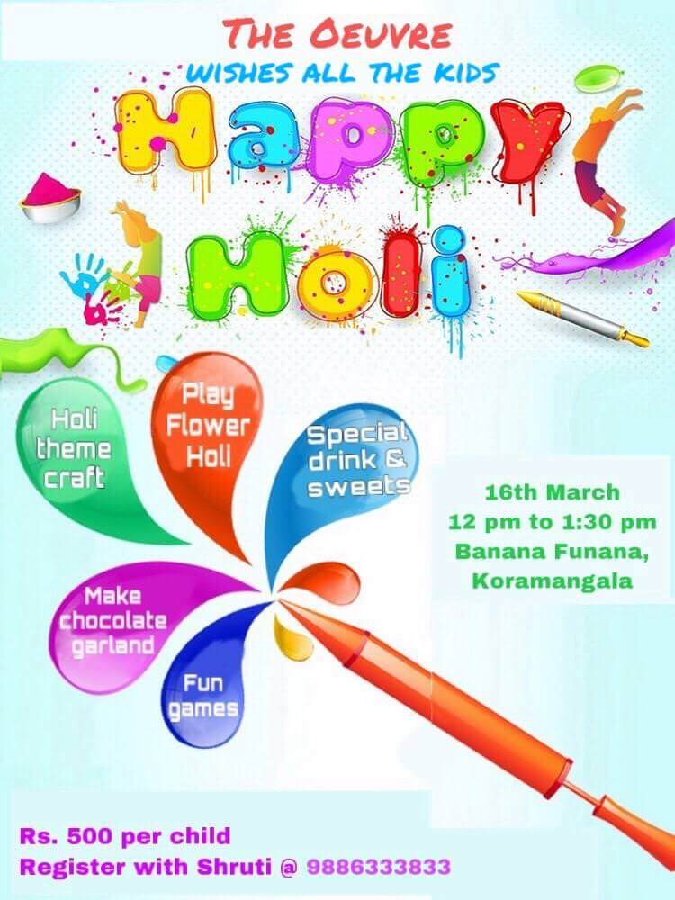 Kids Eco Holi Party Cover Image