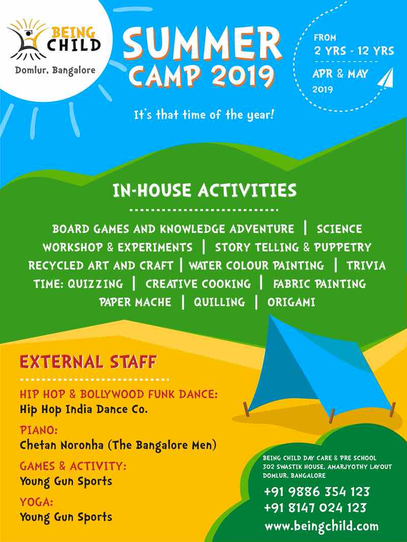 Being Child Summer Camp 2019 Cover Image