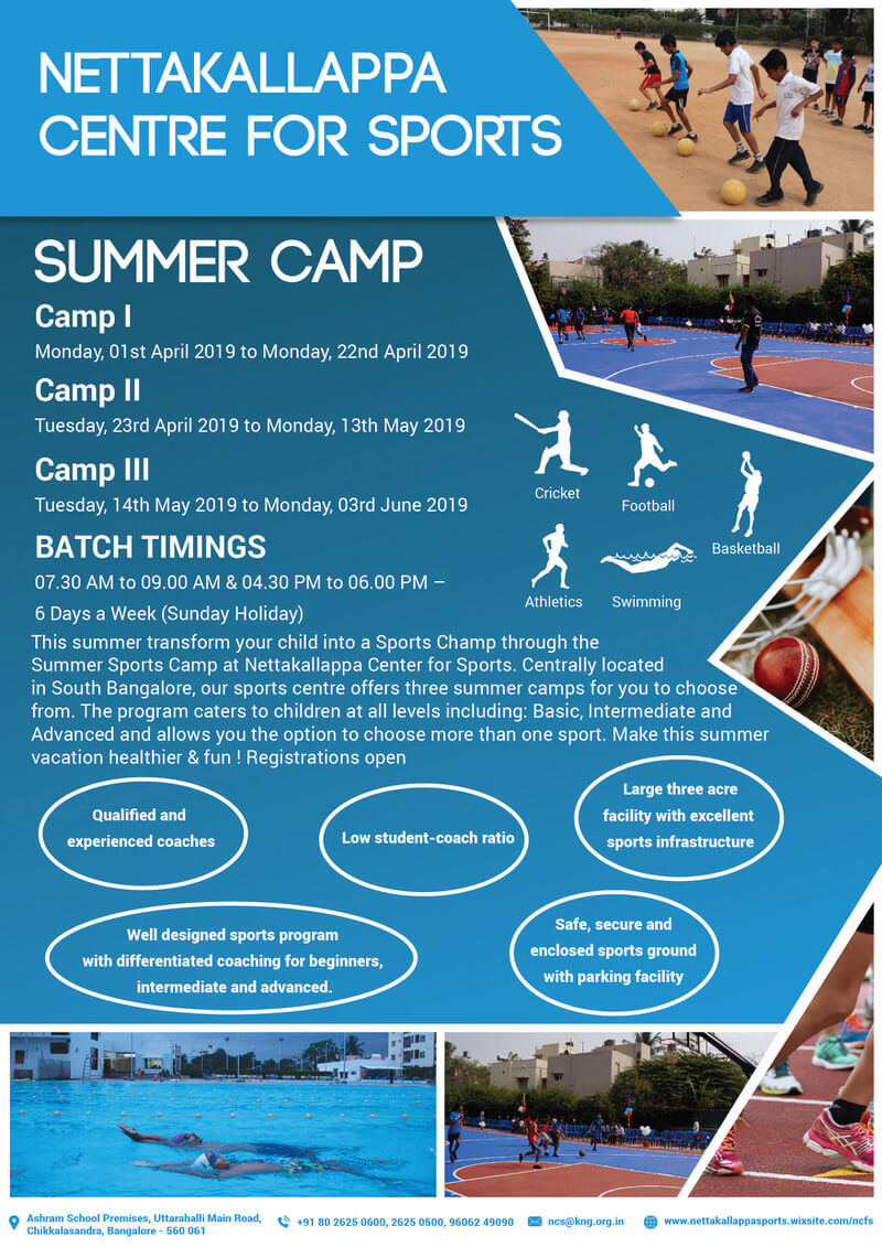 Kids Summer Sports Camp Cover Image