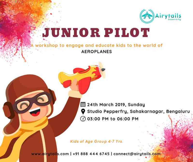 Junior Pilot by Airytails Cover Image