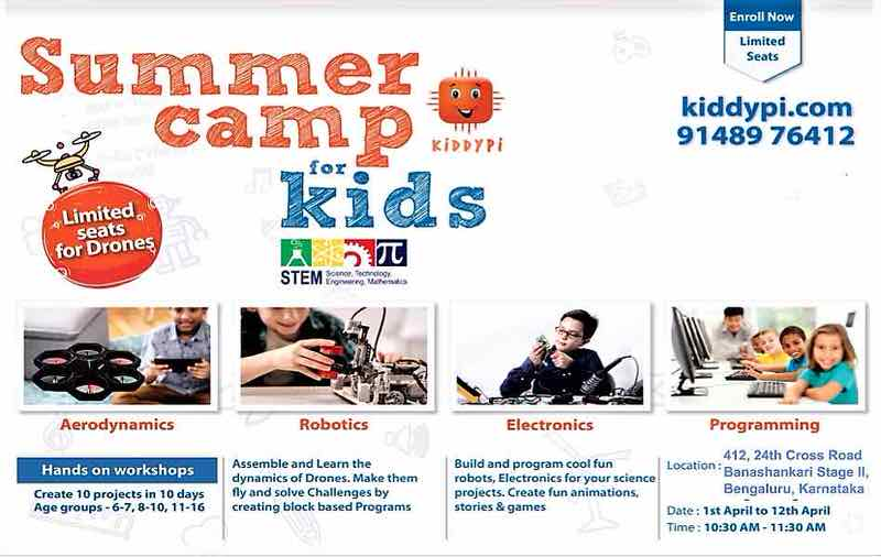 Kiddypi Drones Summer Camp 2019 Cover Image