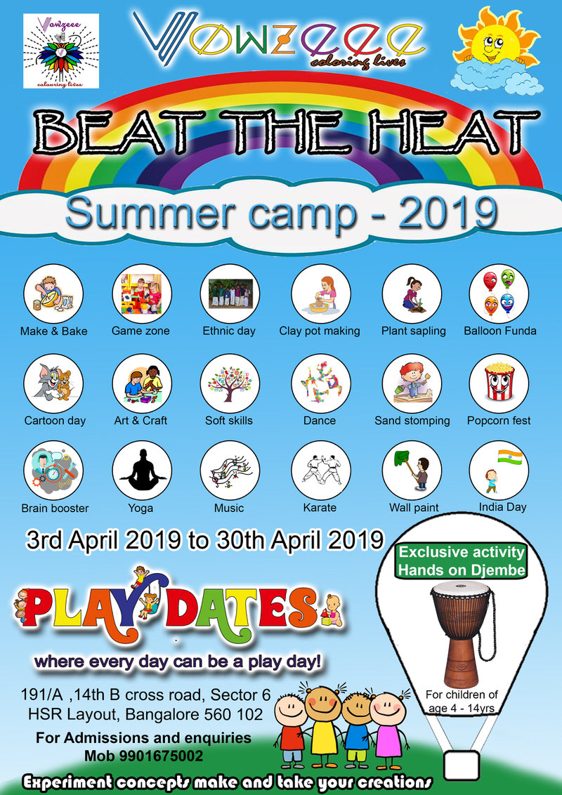 Playdates Summer Camp: Beat the Heat Cover Image