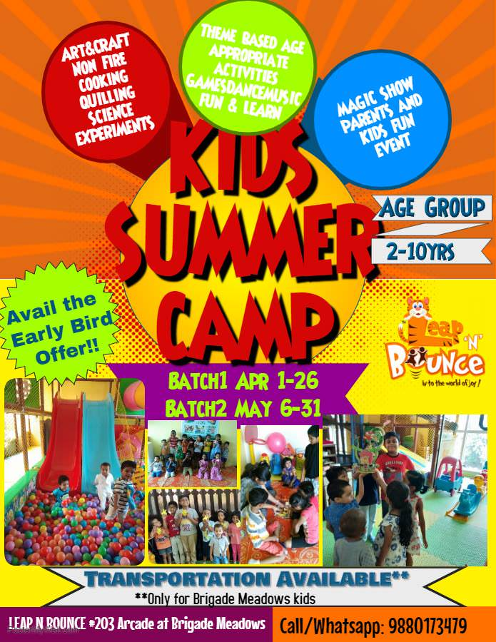 Leap N Bounce Summer Camp 2019 Cover Image