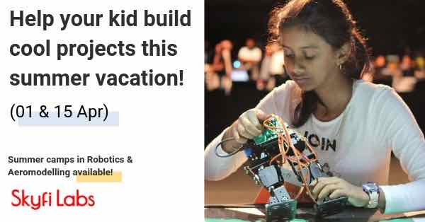 Skyfi Robotics & Aeromodelling Summer Camp Cover Image