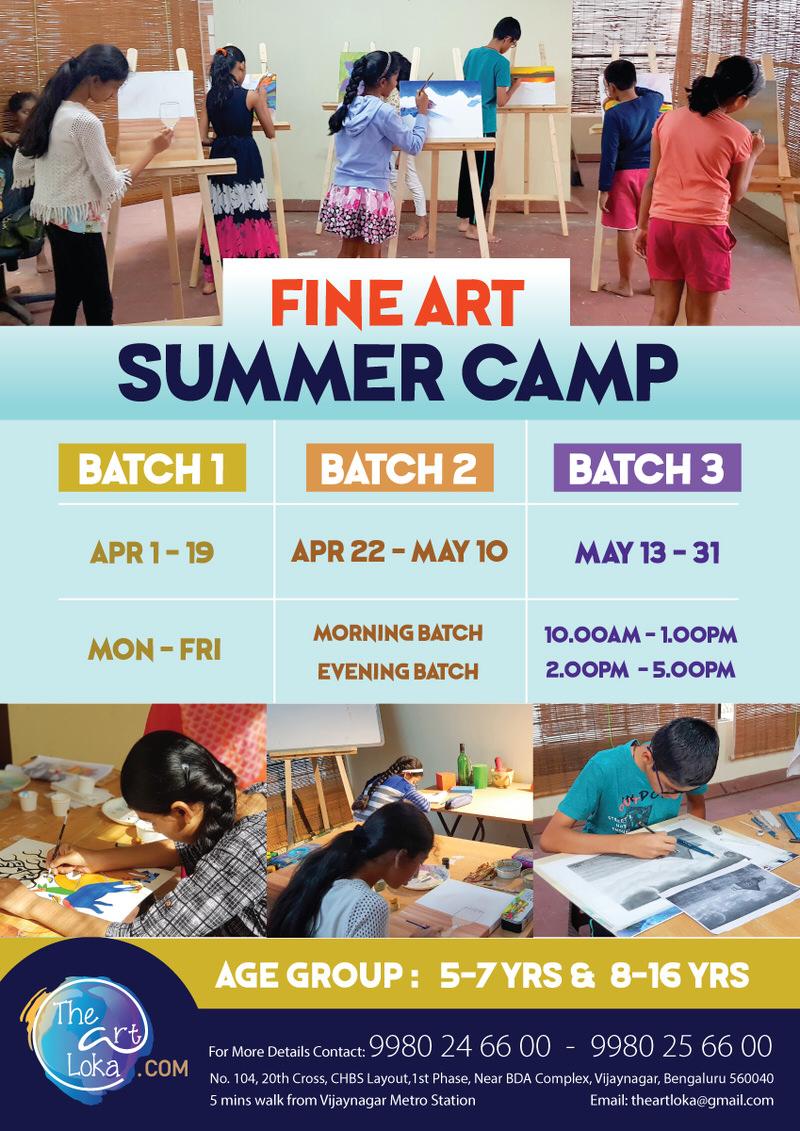 Fine Art Summer Camp 2019 Cover Image