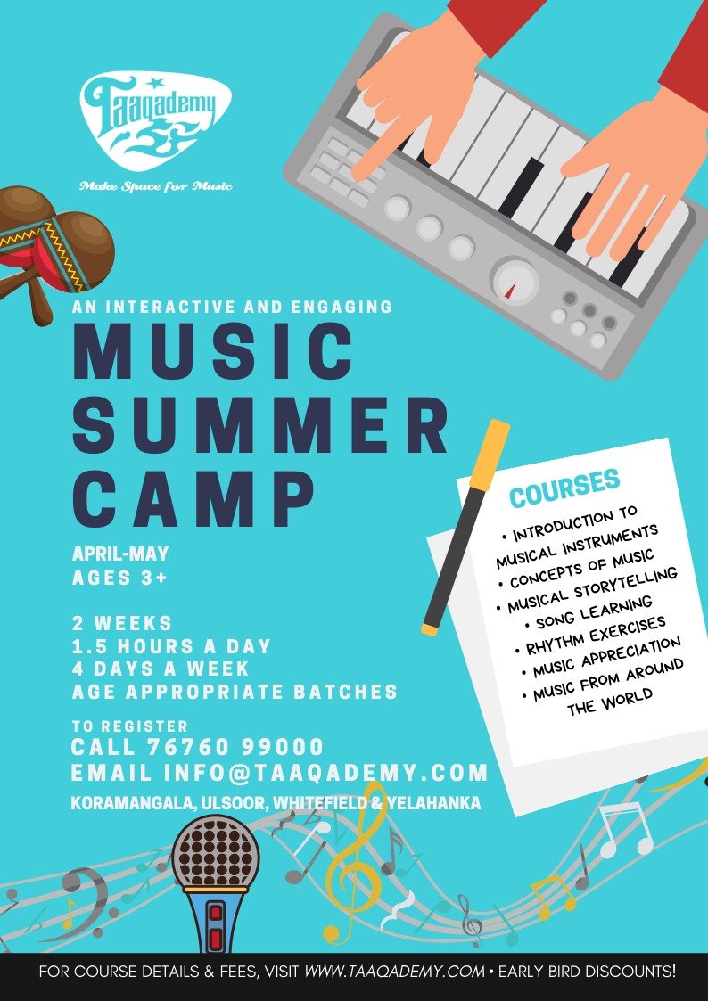 Taaqademy Music Summer Camp 2019 Cover Image