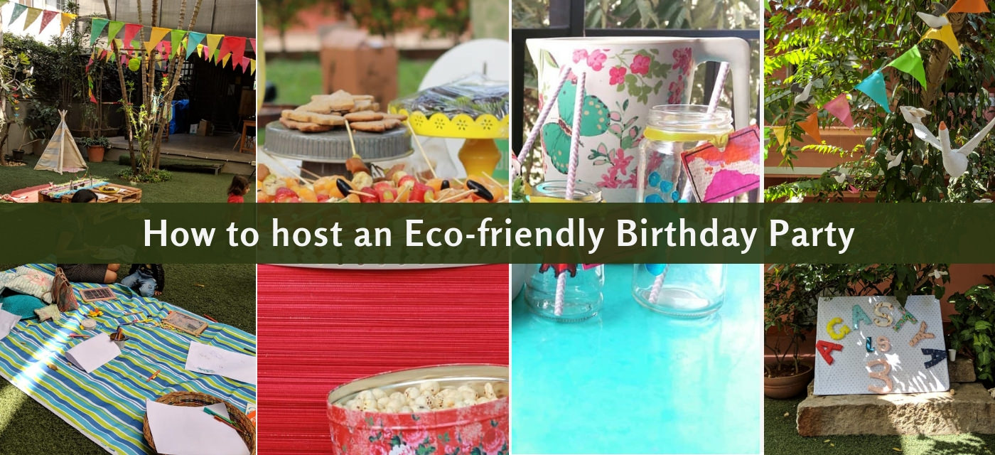 How To Plan An Eco Friendly Birthday Party