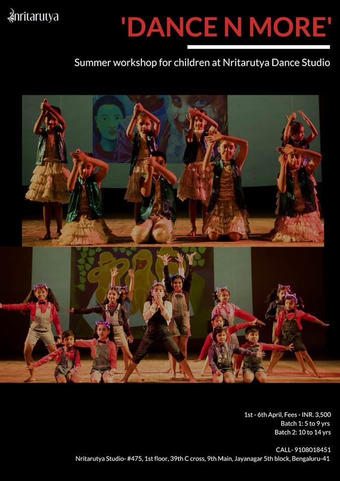 Nritarutya Summer Dance Workshop 2019 Cover Image
