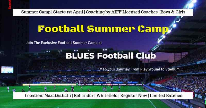 BLUES Football Club Summer Camp 2019 Cover Image
