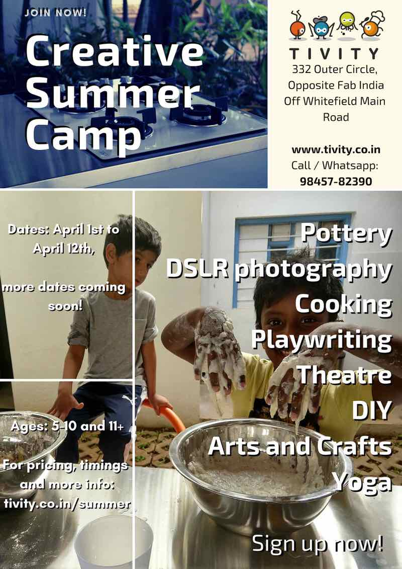 Tivity Creative Summer Camp 2019 Cover Image